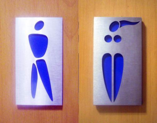 Designer Bathroom Signs  Designer Bathroom Signs Design art. Modern Bathroom Signs